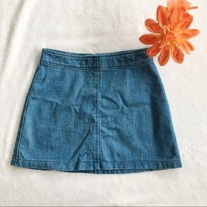 🔆 ZARA Blue Denim Skirt 🔆